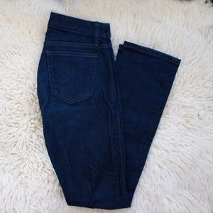 Gap 1969 Real Straight Dark Wash Jeans